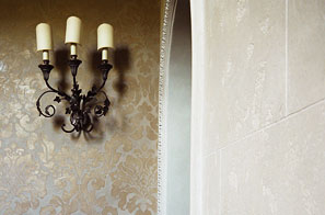 Jersey - Trompe l'oeil, faux stone, marbling & damask finishes.