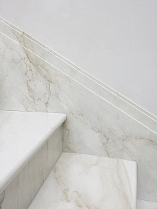 Painted Faux Marble