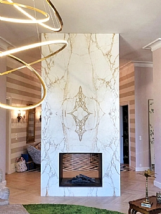 Hand Painted Marble