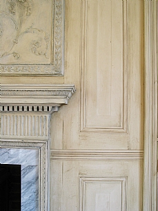 Antiqued Panelling