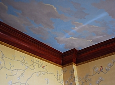 Painted Sky Ceiling